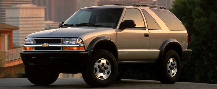 Chevrolet Blazer Reported To Return In 2018 As Mid Size