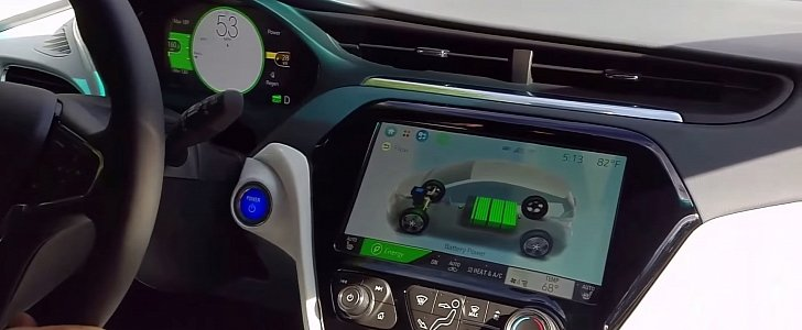 Chevrolet Bolt Ride Along Indicates That Adaptive Cruise Control Is