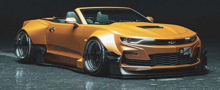 Chevrolet Camaro Banana Edition Looks Like A Budget Bumblebee Autoevolution