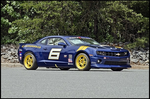 Chevrolet Camaro Factory Race Car to Be Auctioned Next Month [Photo Gallery]