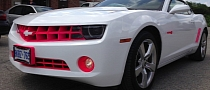 Chevrolet Camaro Gets Eye-Stabbing Hello Kitty Package [Photo Gallery]