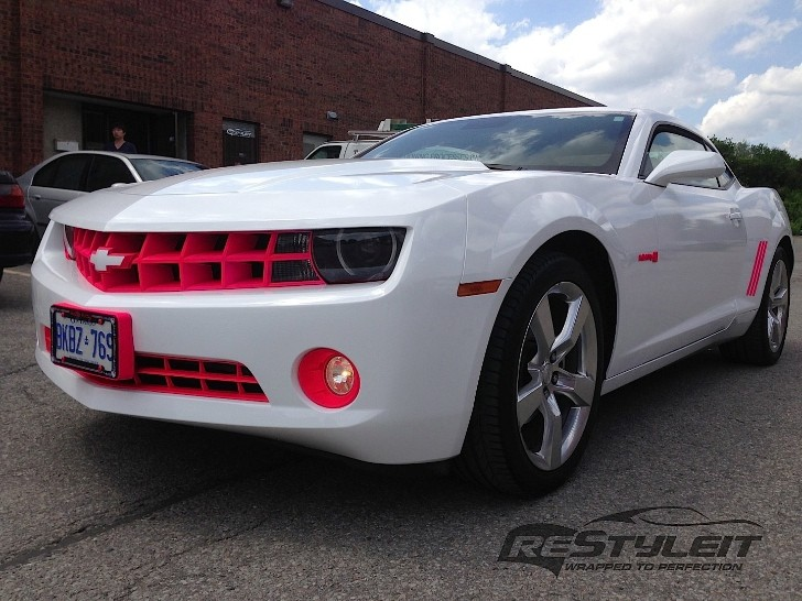 Chevrolet Camaro Gets Eye Stabbing Hello Kitty Package Autoevolution
