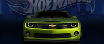 Chevrolet Camaro Hot Wheels Concept Teased ahead of 2011 SEMA Debut