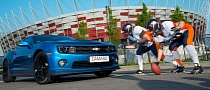 Chevrolet Camaro Hot Wheels Edition Meets Poland's American Football Stars
