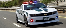 Chevrolet Camaro SS Becomes Police Car in Dubai