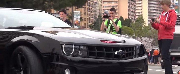 Chevrolet Camaro Ss With Knight Rider Led Bar Plays Kitt