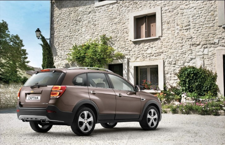 Chevrolet Captiva Facelift Priced from £21,295
