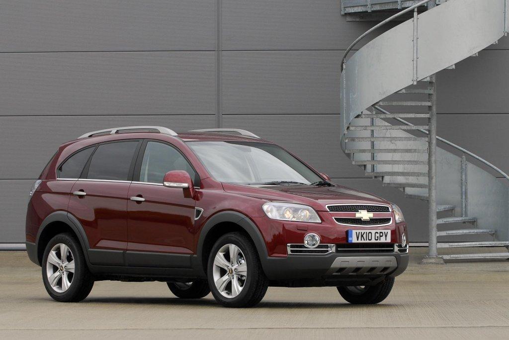 Chevrolet Captiva Ltz Introduced In The Uk Autoevolution