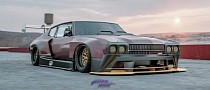 """Chevrolet Chevelle SS """"Chev-Hell"""" Looks Like a Downforce Monster"""