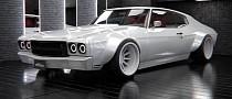 "Chevrolet Chevelle SS ""White Walker"" Looks Deadly in Quick Rendering"
