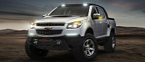 Chevrolet Colorado Rally Concept Making European Debut in Frankfurt