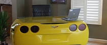 Chevrolet Corvette Custom Desk [Photo Gallery]