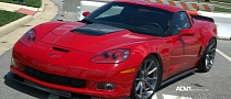 Chevrolet Corvette Gets ADV.1 Wheels [Photo Gallery]
