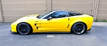 Chevrolet Corvette ZR1 on ADV.1 Wheels [Photo Gallery]