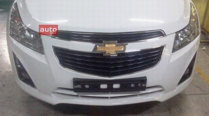 Chevrolet Cruze Facelift Spotted?
