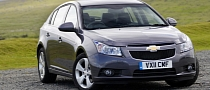 Chevrolet Cruze Hatchback RHD Debuts at Donington Park