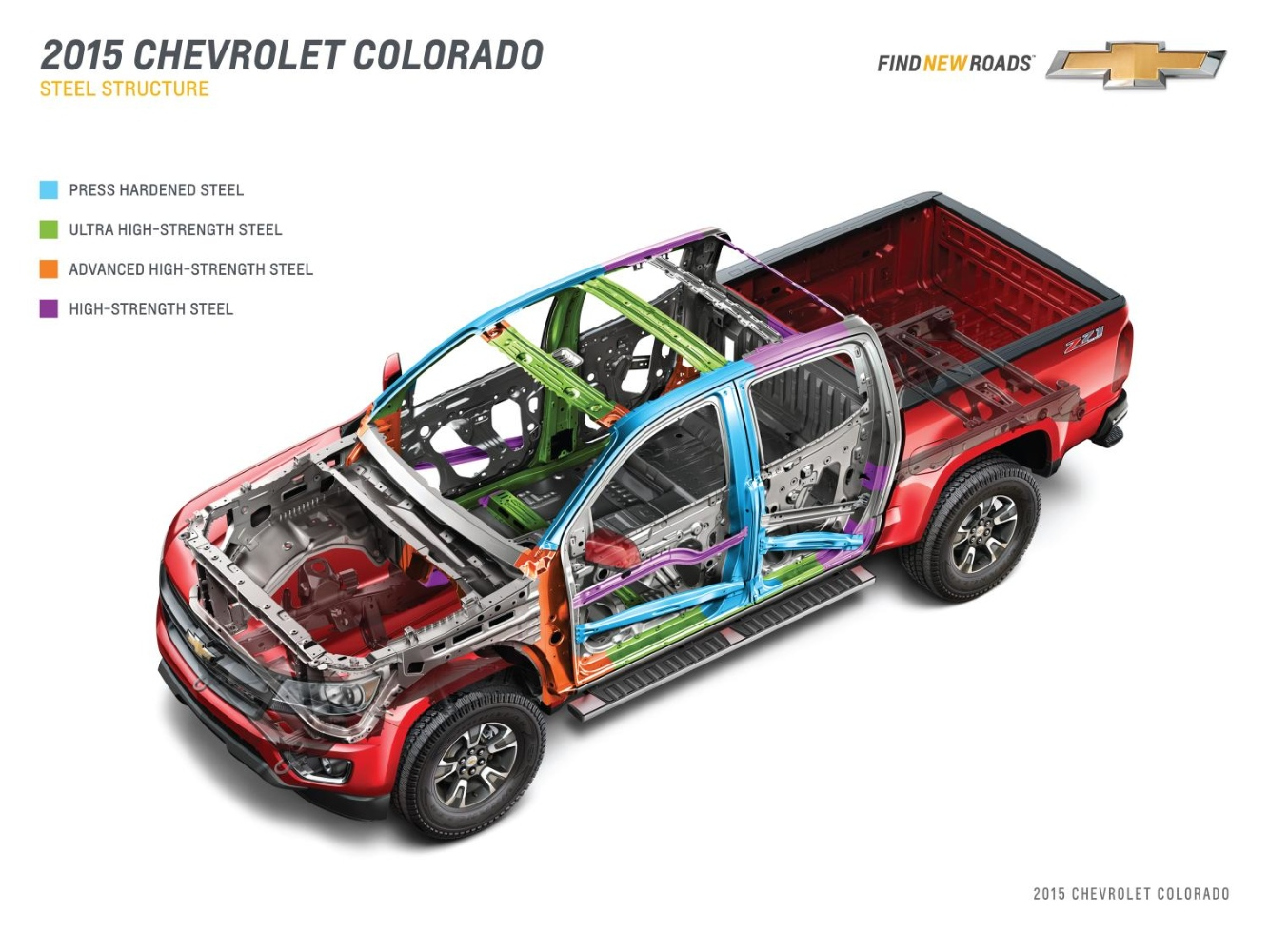 Chevrolet Details 2015 Colorado Engineering, Weight-Loss Program - autoevolution