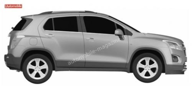 Chevrolet Encore / Mokka Small Crossover Leaked