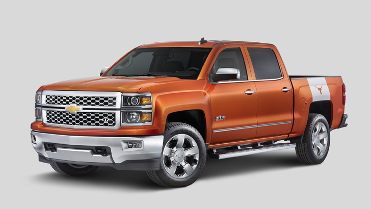 chevrolet gets ready for texas football with special edition silverado autoevolution. Black Bedroom Furniture Sets. Home Design Ideas
