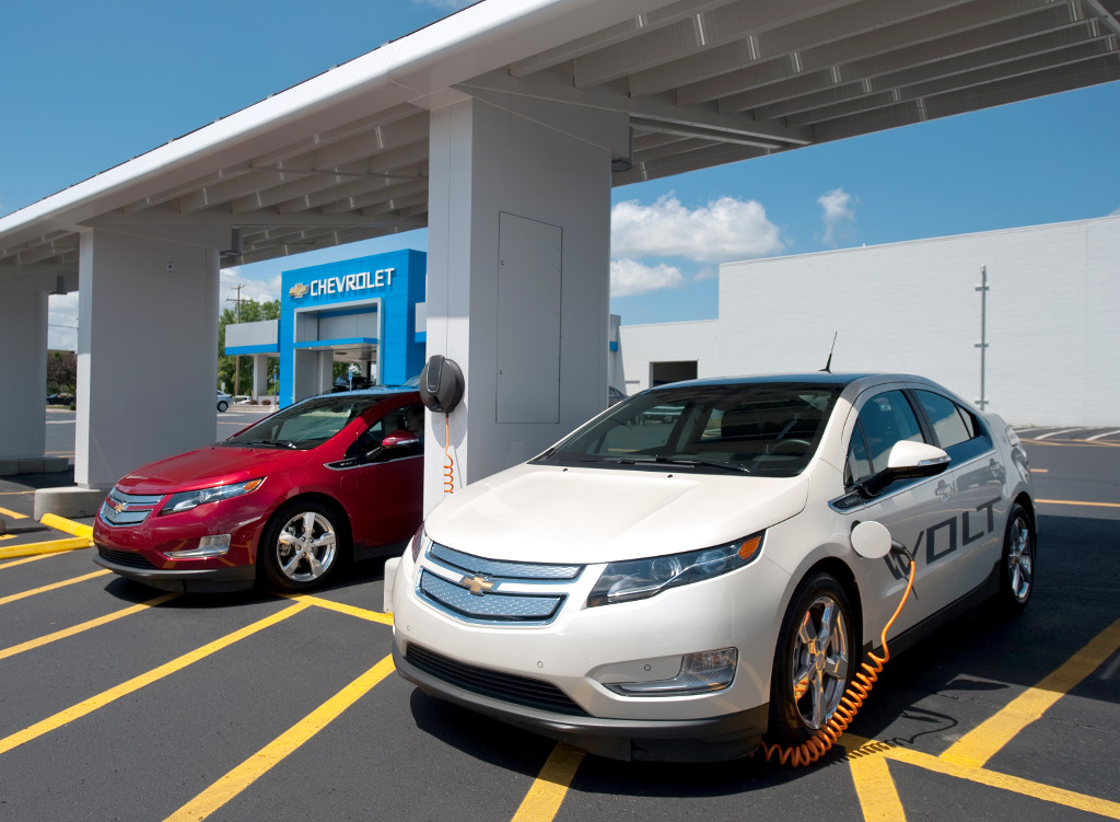 Chevrolet Green Zone to Power Volts Using Sun Energy