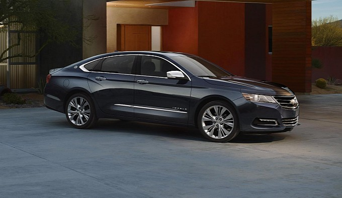 Chevrolet Has High Hopes for Roomier 2014 Impala
