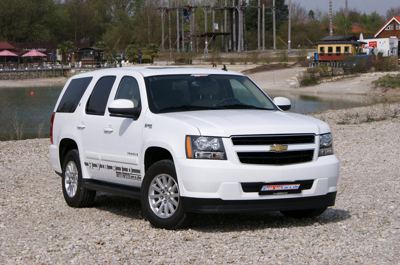 Chevrolet Tahoe Hybrid Gets Lpg Conversion Autoevolution