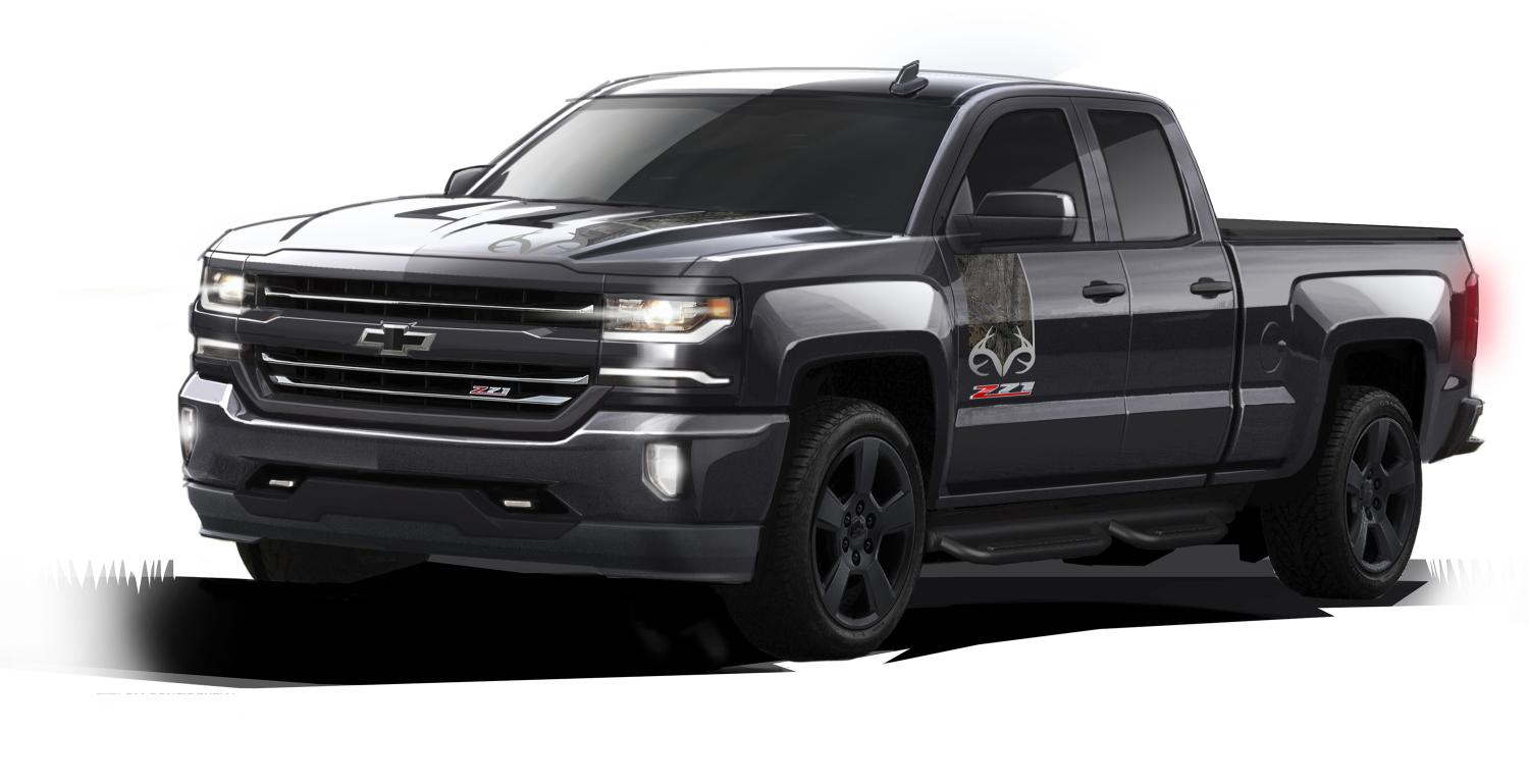 chevrolet introduces special edition evil looking silverado autoevolution. Black Bedroom Furniture Sets. Home Design Ideas