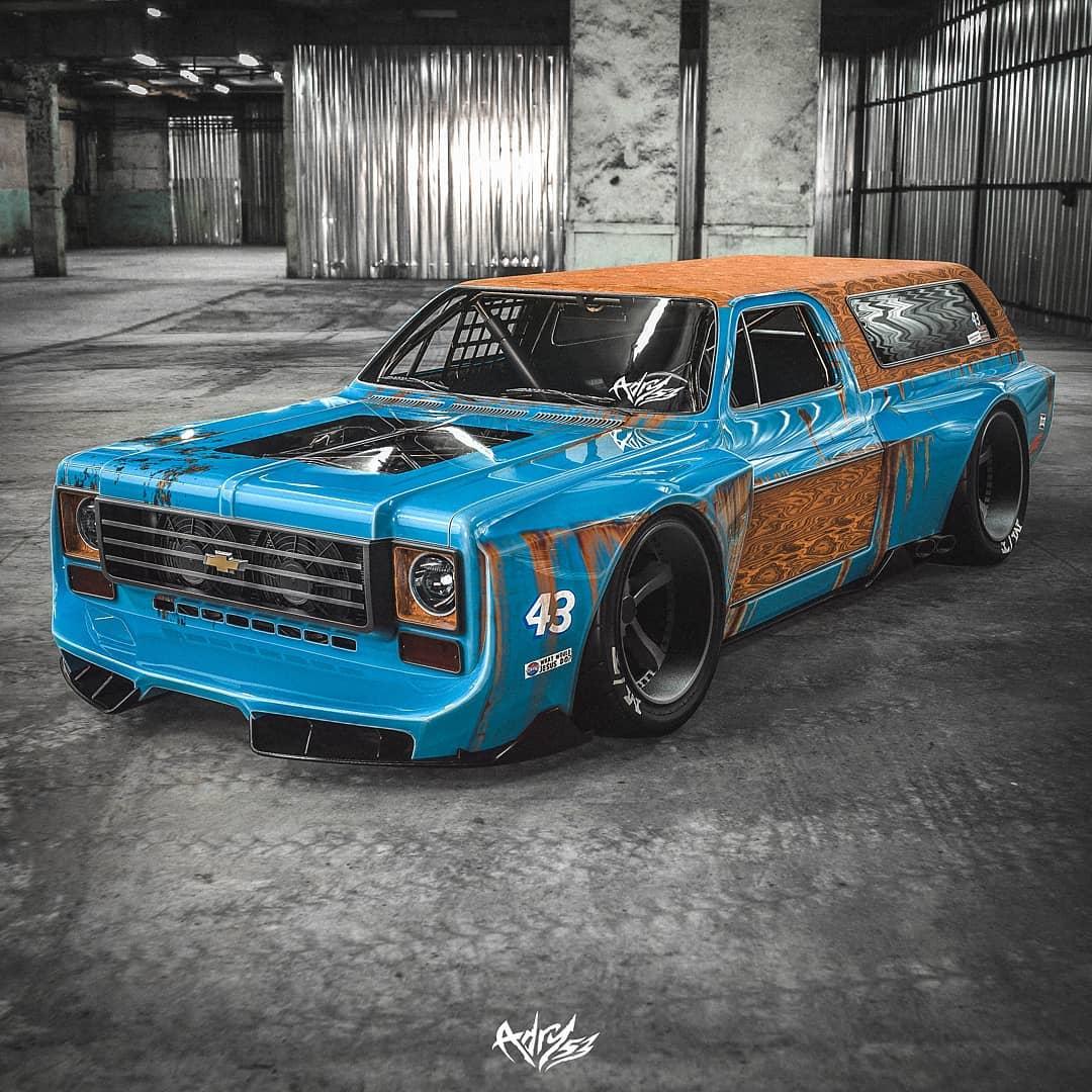 "Chevrolet Blazer ""Italian K5"" Flexes Lamborghini V10 ..."