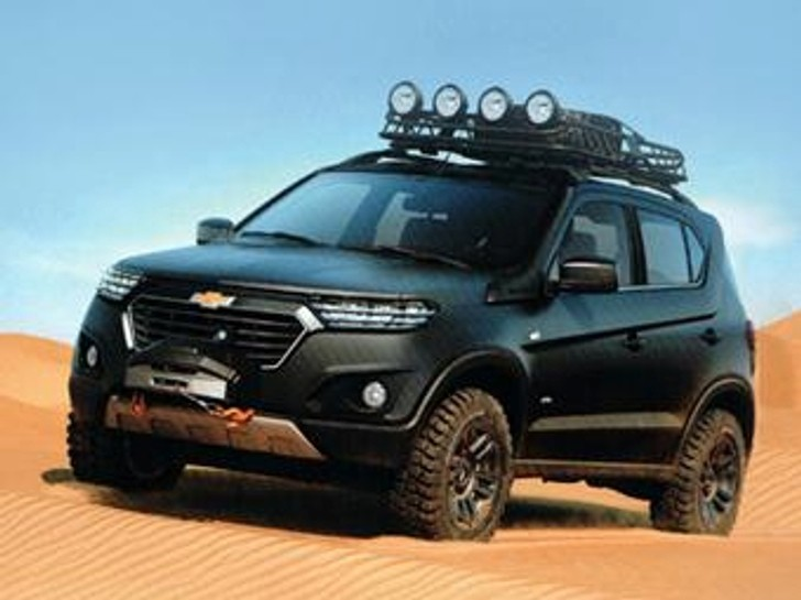 Chevrolet Niva Concept Leaked Ahead Of Moscow Reveal