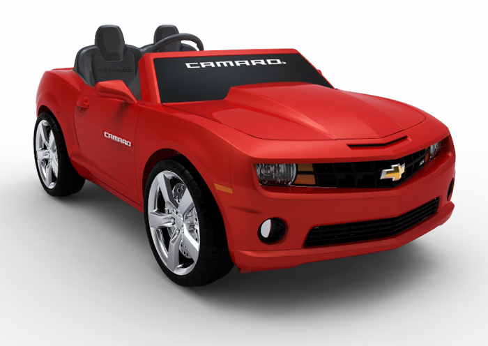 Chevrolet Offers Camaro Convertible Kids Car Autoevolution
