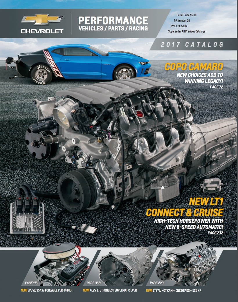 Chevrolet Presents New Crate Engines Connect Amp Cruise E