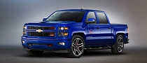 Chevrolet Previews New Silverado Concept Trucks for SEMA