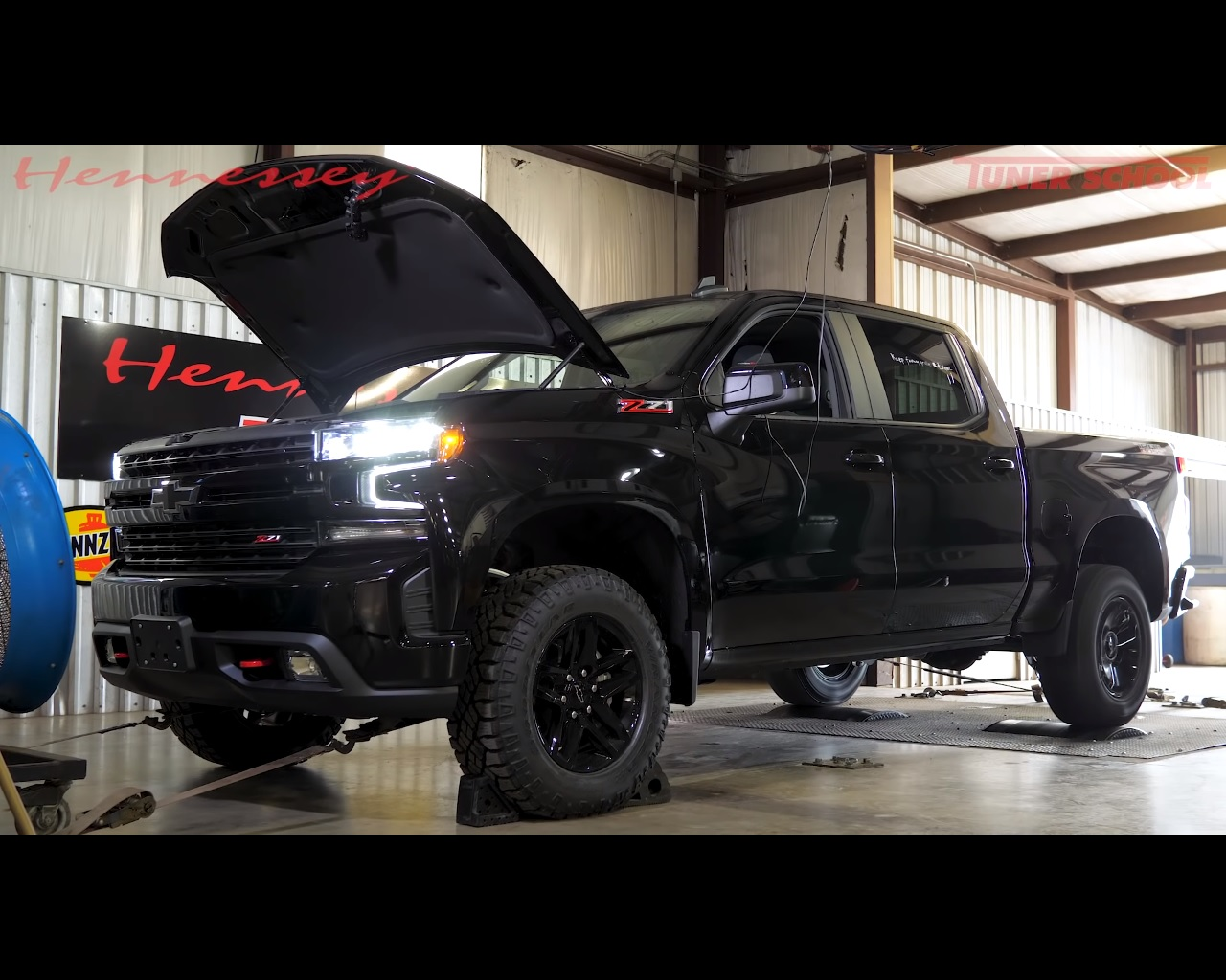 Chevrolet Silverado 1500 LT Trail Boss Hits the Hennessey ...