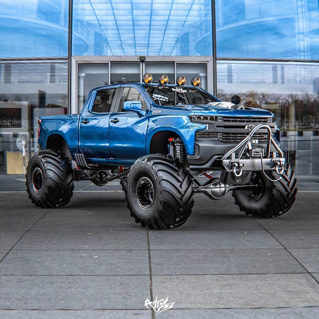 Lifted 2020 Chevrolet Silverado Big Boss Looks Like A Trail Daddy Autoevolution