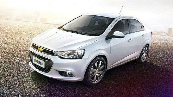 Chevrolet Sonic Facelift Breaks Cover in China - autoevolution