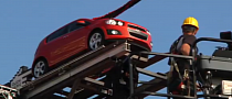 Chevrolet Sonic Bungee Jump Launch [Video]