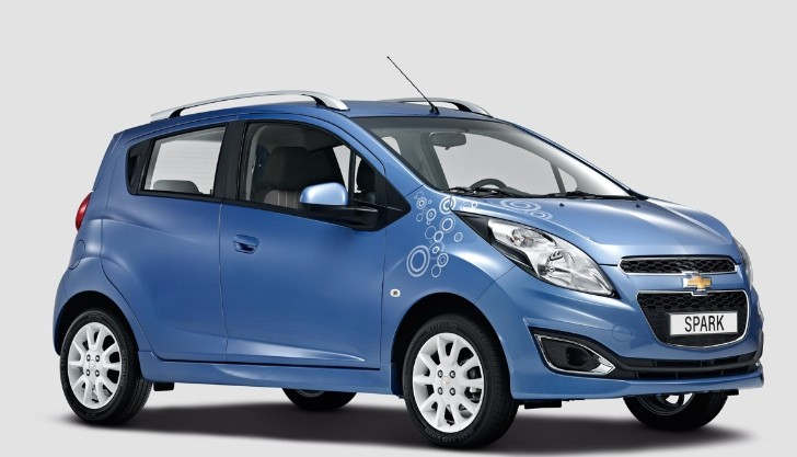 Chevrolet Spark Bubble Edition Revealed