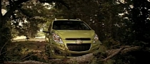 Chevrolet Spark Commercial: OnStar Saves You from Monsters