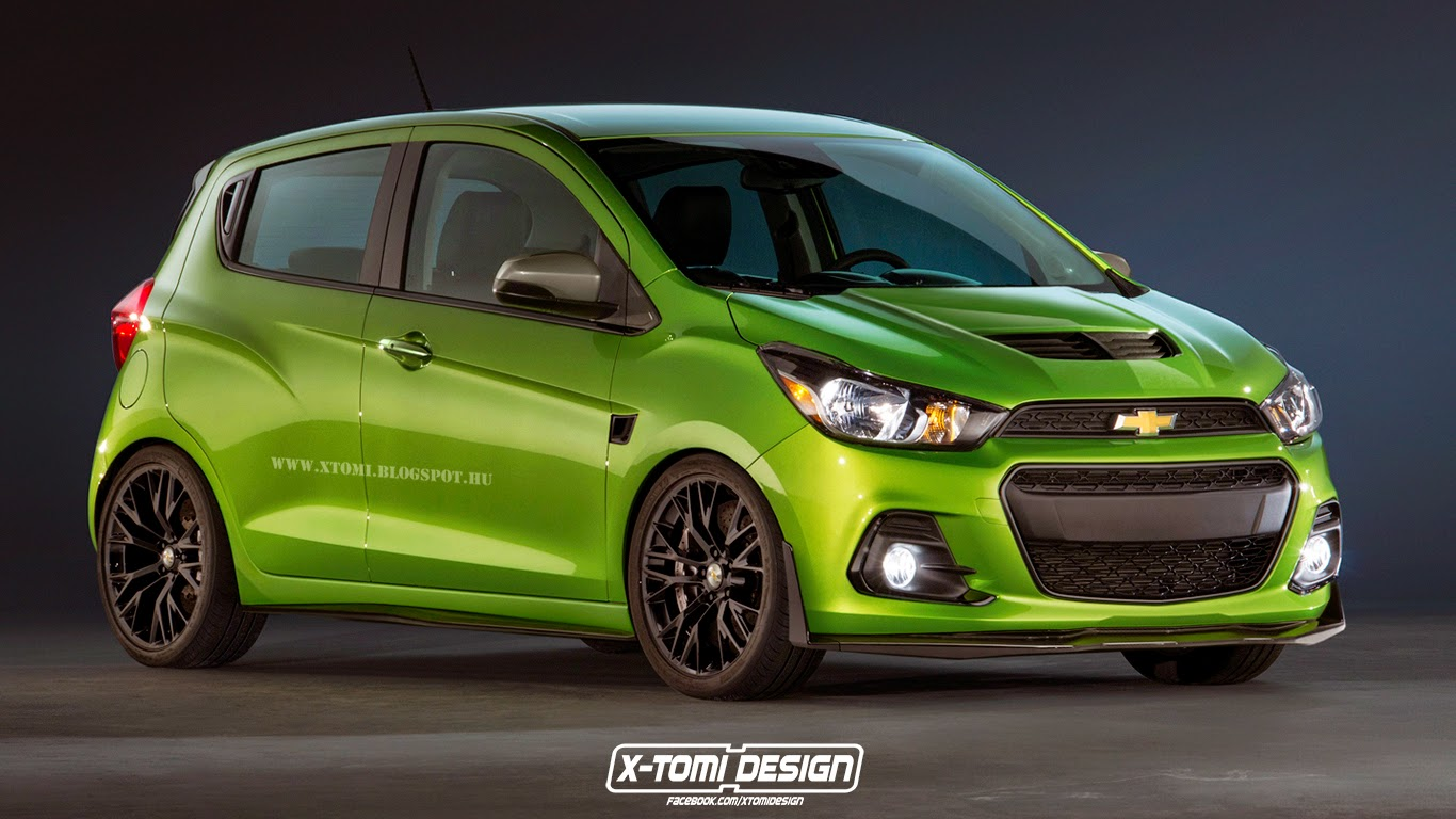 Chevrolet Spark Z06 Rendering Is Hilarious But Cool ...