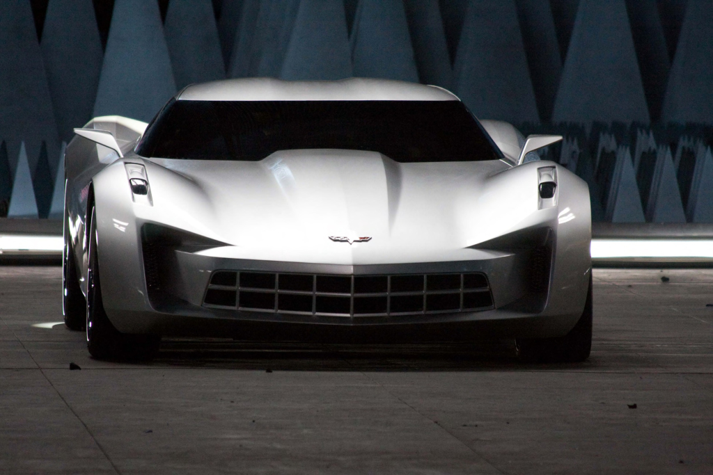 Chevrolet Stingray Concept is Sideswipe Transformer - autoevolution