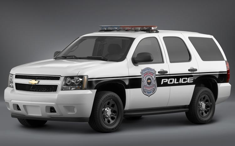 Chevrolet Tahoe Police Vehicle The Biggest Residual Value