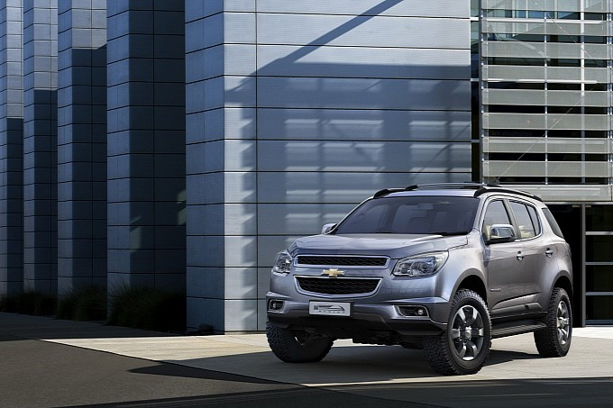 Chevrolet Trailblazer Coming to US in 2014?