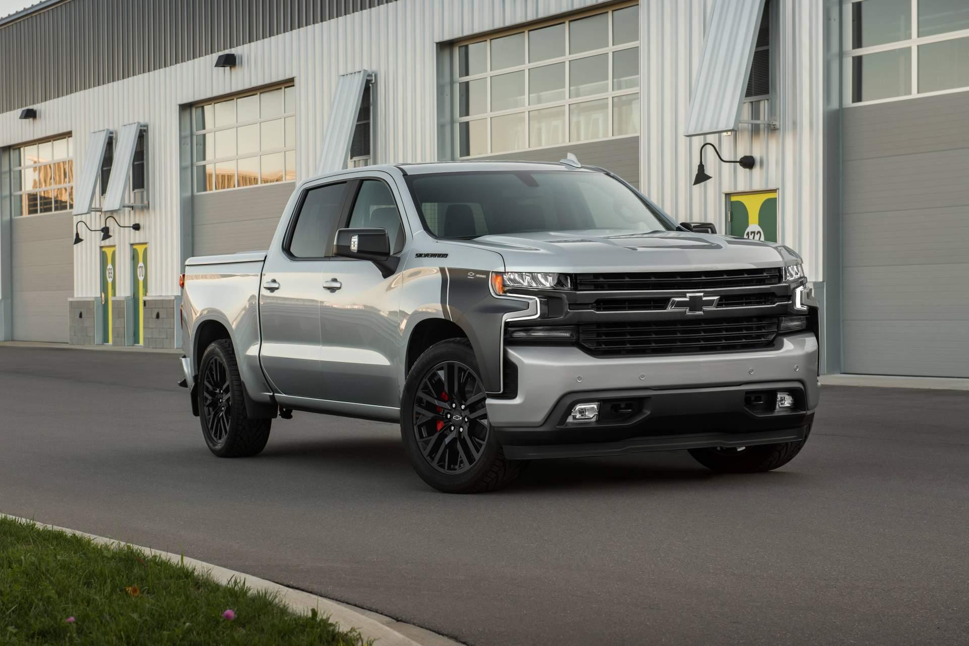 Chevrolet Tunes Four 2019 Silverado 1500 Models Calls Them Concepts