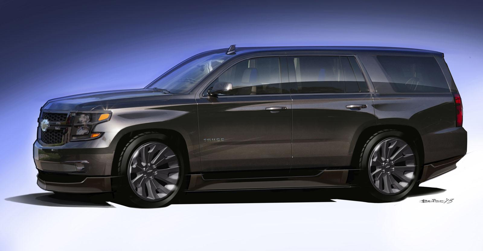 Chevrolet has released preliminary details of the Tahoe and Suburban ...