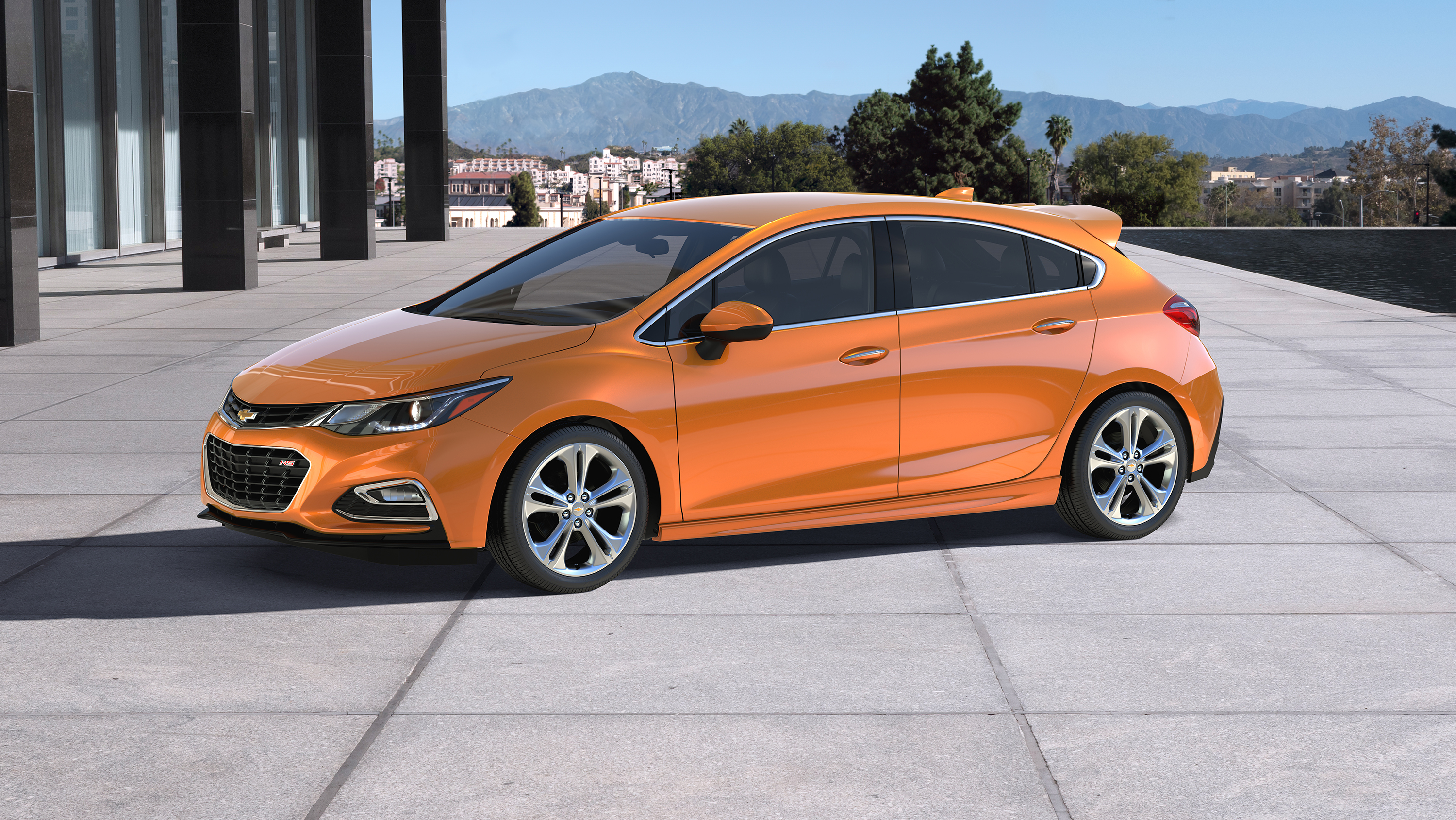 Chevrolet Unveils The My 2017 Cruze Hatchback Sales Start This Fall Autoevolution