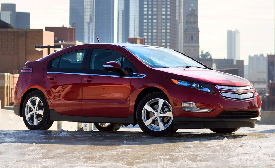 chevrolet volt made of oil soaked material from gulf of mexico autoevolution. Black Bedroom Furniture Sets. Home Design Ideas