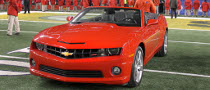 Chevy Camaro Awarded to Super Bowl MVP