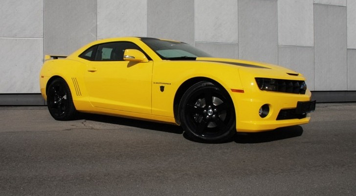 Chevy Camaro Transformers Edition by O.CT Tuning with 630 HP