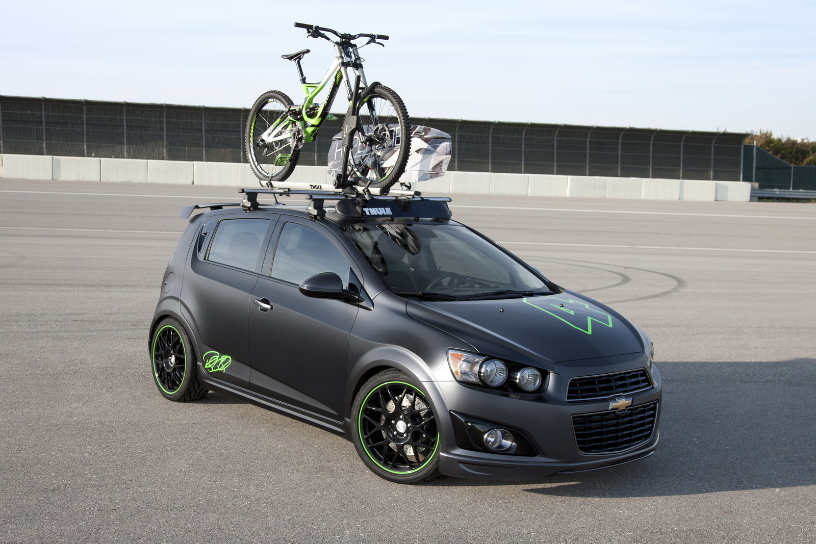 Chevy Sonic Aav By Ricky Carmichael Unveiled At 2011 Sema