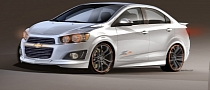 Chevy Sonic Z-Spec 2.5 Concept Preview for 2012 SEMA